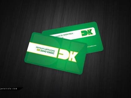 Dentalni Laboratorij : : : Business card design