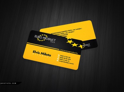 Europroduct : : : Business card design
