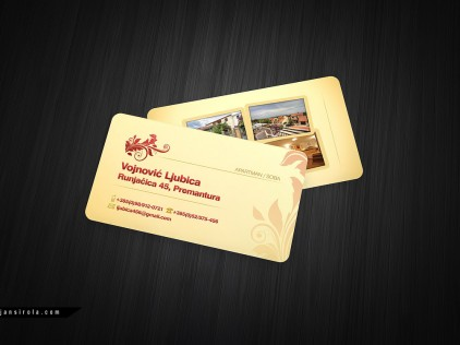 Appartments : : : Business card design
