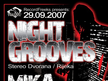 Night Grooves : : : Poster B1