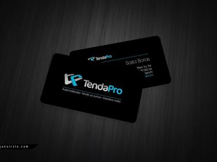 Tenda Pro : : : Business card designign