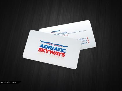 Adriatic Skyways : : : Business card design