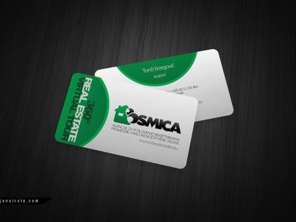 Osmica Nekretnine : : : Business card design