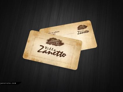 Villa Zanetto : : : Business card design