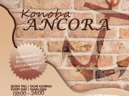 Konoba Ancora : : : Flyer A5