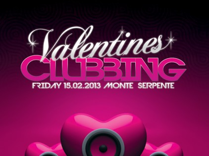 Valentines Clubbing : : : Flyer A5