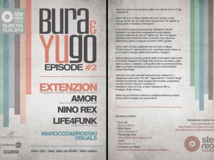 Bura & Yugo #2 : : : Flyer A5