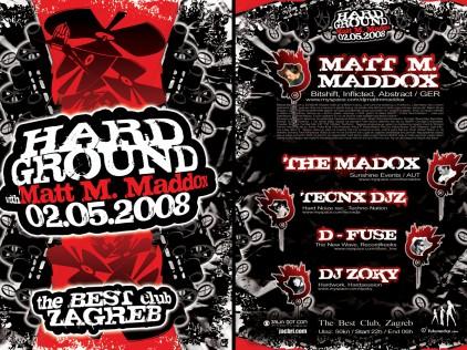 Hard Ground : : : Flyer A5
