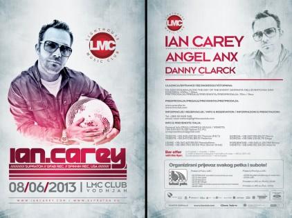 Ian Carey : : : Flyer A5