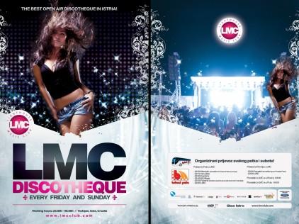 LMC Discotheque : : : Flyer A5